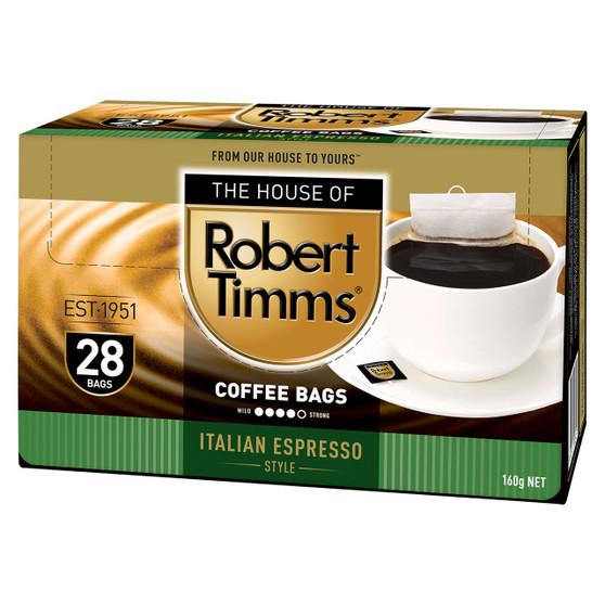 Italian Espresso Coffee Bags 28s