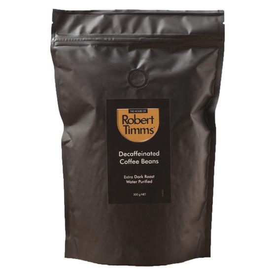 Decaffeinated Coffee Beans 500g
