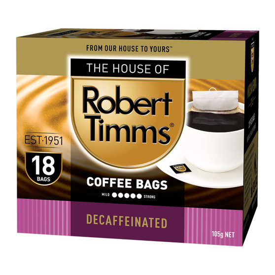 Decaffeinated Coffee Bags 18s