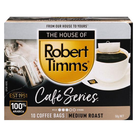 Café Series Medium Roast Coffee Bags 10s