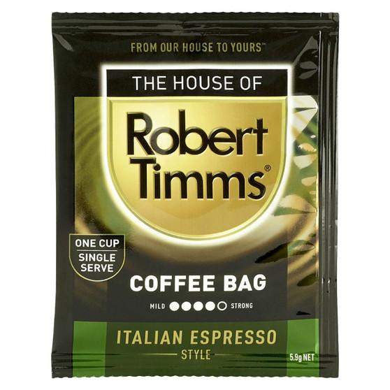 Italian Espresso Coffee Bags 100s