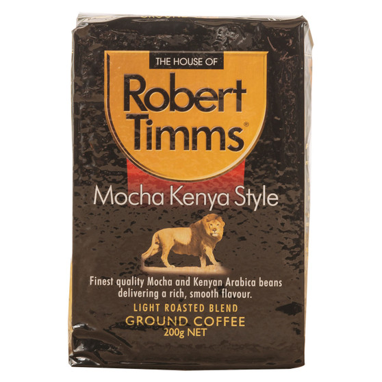 Mocha Kenya Ground Coffee 200g
