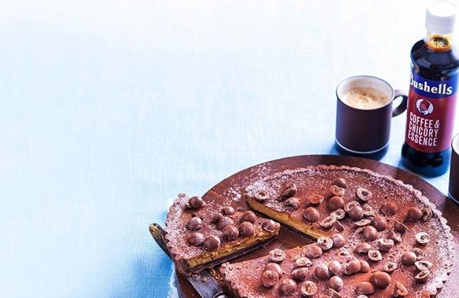 Latte Coffee and Chicory Essence Tart