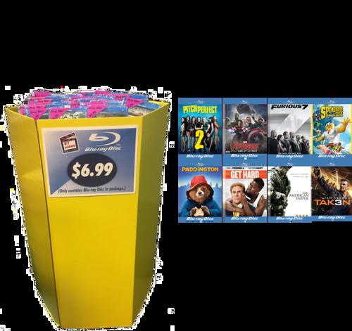 Blu-ray Movie Dump Bin
