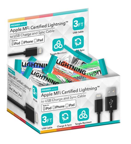 Bulk Lightning Cables - 24ct