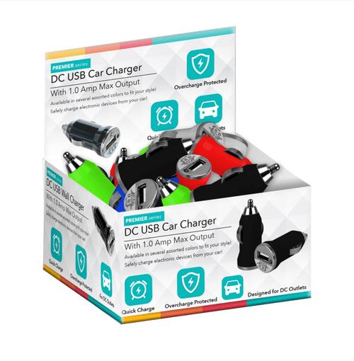 Bulk Cellular Car Charger - 24ct