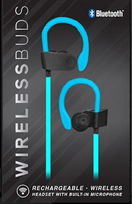 Voltz Wireless Earbuds - Blue
