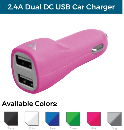 3.1A Dual USB DC Car Charger