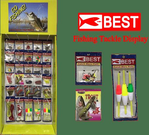 Fishing Tackle Display - 180pc