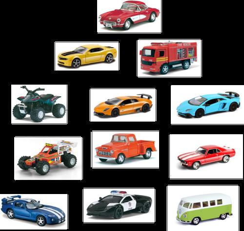 Diecast Car Reorder Pack - 24 pc