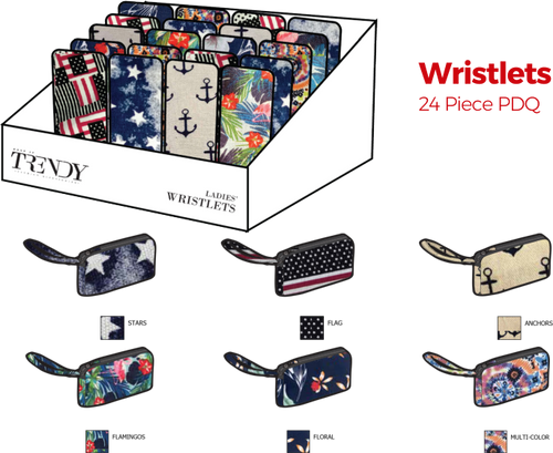 Wristlets - 24pc Counter Display