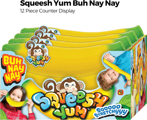 Squeesh Yum Buh Nay Nay - 12pc Counter Display