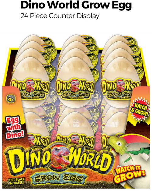 Dino Grow Egg - 24pc Counter Display