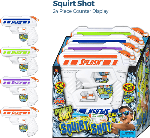 Squirt Shot - 24pc Counter Display