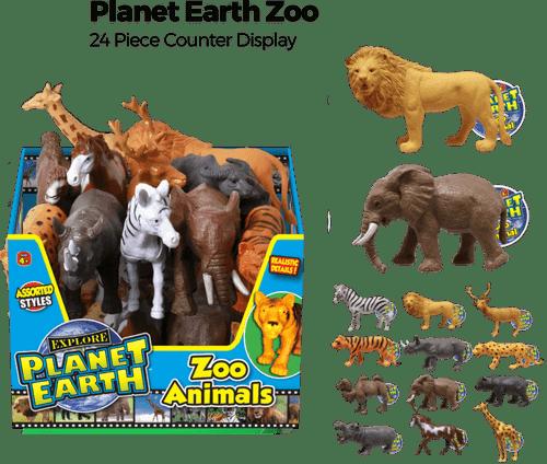 Planet Earth Zoo PDQ - 24 pc