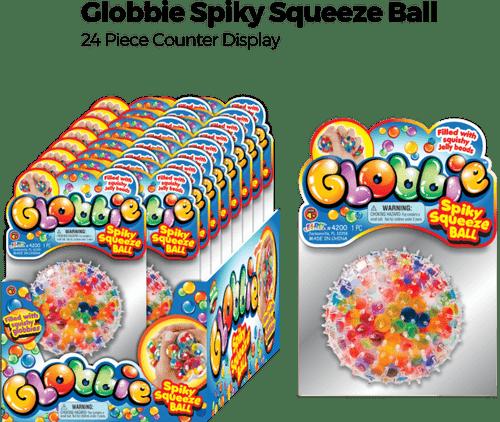 Globbies Squeez Ball - 24 pc