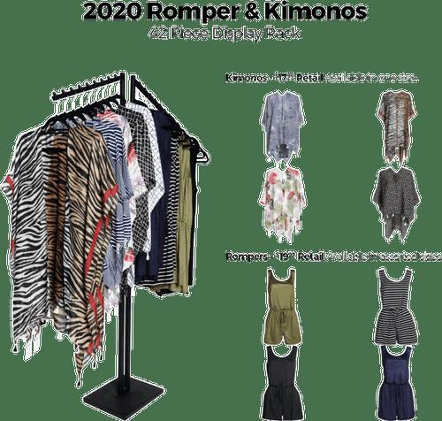 2020 Romper & Kimonos Floor Display - 42 pc