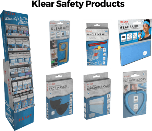 Klear Products Floor Display - 114 pc