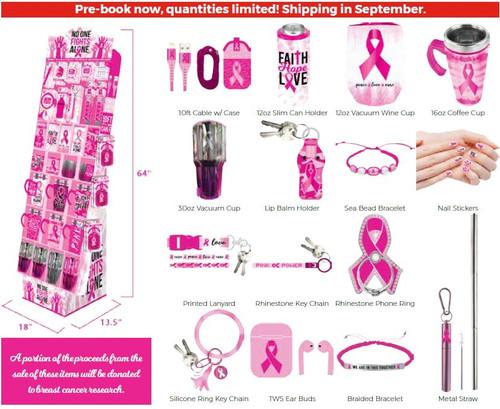 Pink 2021 Floor Display - 68 pc