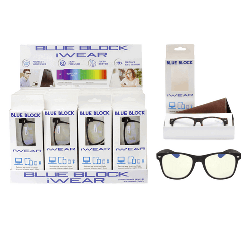 Blue Light Glasses Counter Display - 24 pc