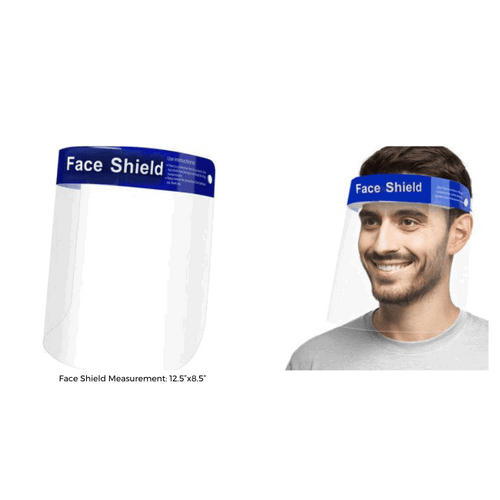 Protective Face Shields - 30 ct