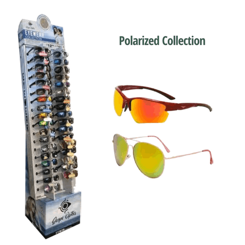Polarized Sunglasses Floor Display - 36 pc