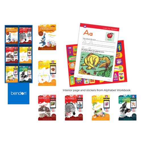 Learn At Home Floor Display - 72 pc