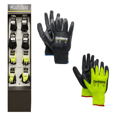Nitrile Glove Floor Display - 120 pc