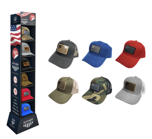 Anthem American Headwear Floor Display - 30 pc