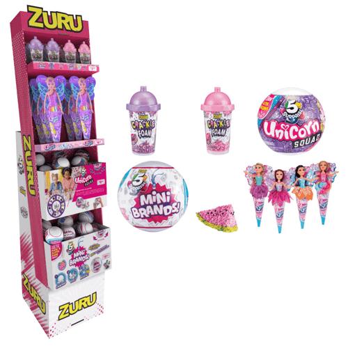 Zuru Pink Shipper Floor Display - 50 pc