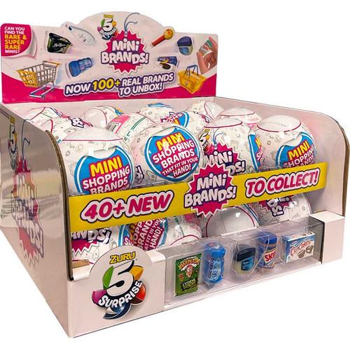 Zuru 5 Suprise Mini Brands Counter Display Wholesale