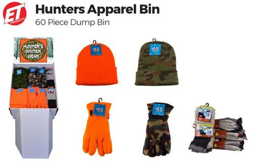Hunter Apparel Dump Bin
