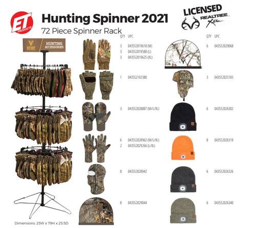 Hunting Spinner Realtree Hot Shot