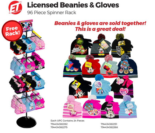 Licensed Beanies and Gloves