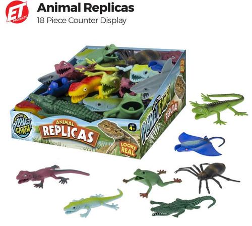 Animal Replicas 18ct Display