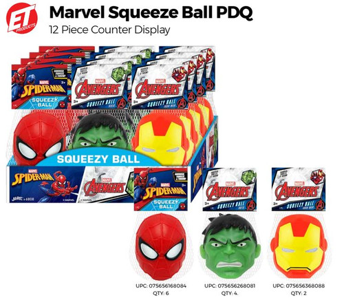 Marvel Squeeze Ball