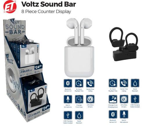 Voltz Sound Bar Display