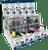 Voltz Premium 9-Bin Bulk Display - 108pc