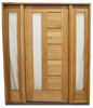 """5'9""""x6'8"""" Exterior Mahogany Door 