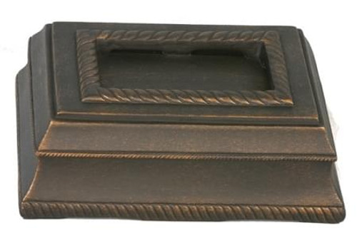 Universal Chime Cover - Oil Rubbed Bronze Finish