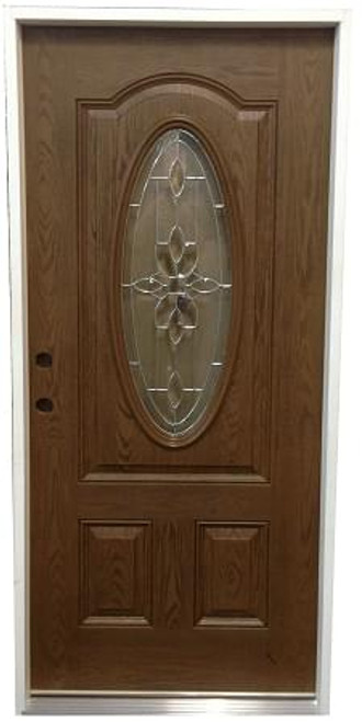 "3'0""x6'8"" Pre-finished Fiberglass Exterior Door  3"