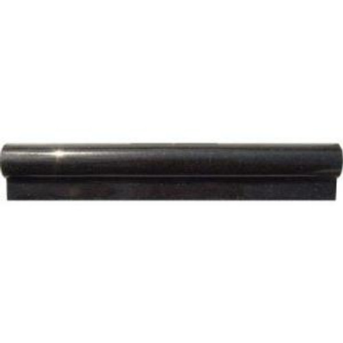 "Premium Black Granite Rail 2""x12"""