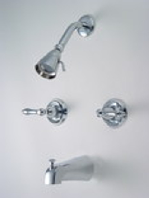 125727 Tub and Shower Mixer, Chrome