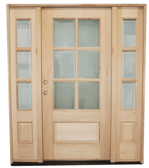 "5'9""x 6'8"" Mahogany Exterior Door 
