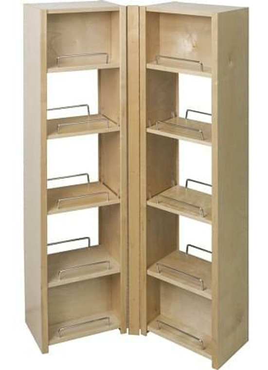 Pantry Swing Out Cabinet 12 x 8 x 45-5/8