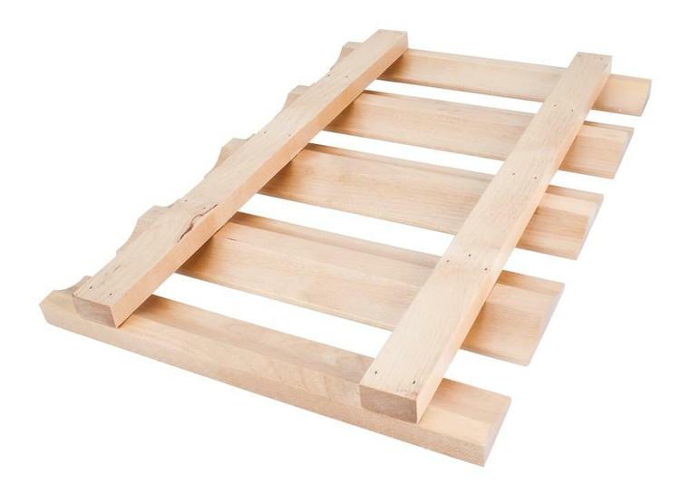 Stemware Rack 30 in Maple or Alder