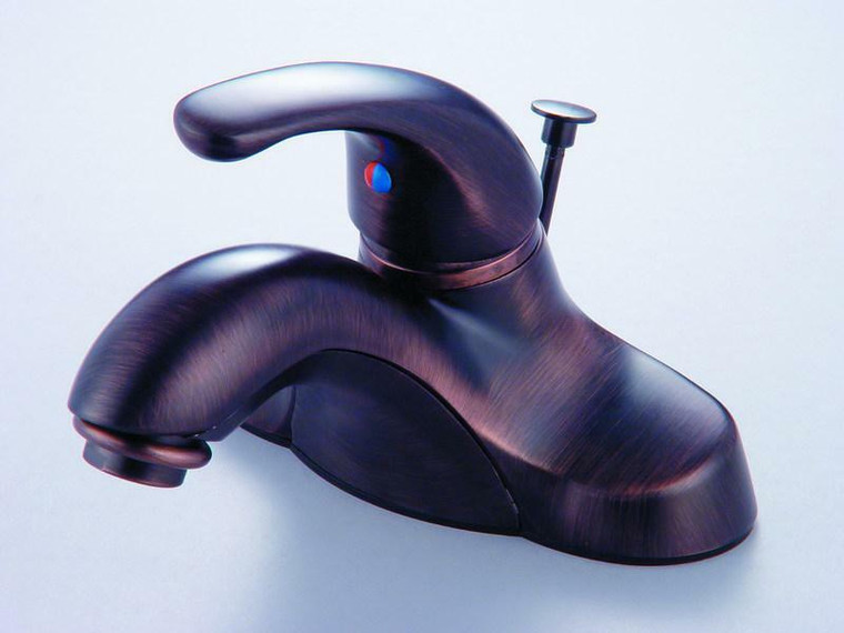 Hardware House One Handle Lavatory Faucet, Classic Bronze