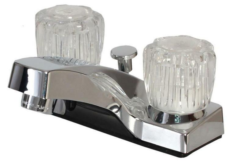 Hardware House 126632 Non-Metallic Lavatory Faucet, Chrome