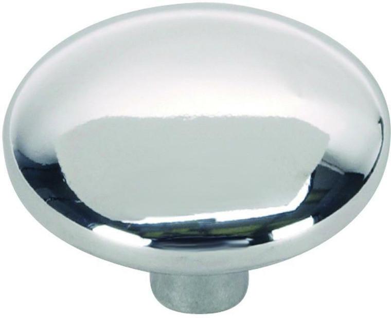 Hardware House 1 1/4-in Round Cabinet Knob, Chrome