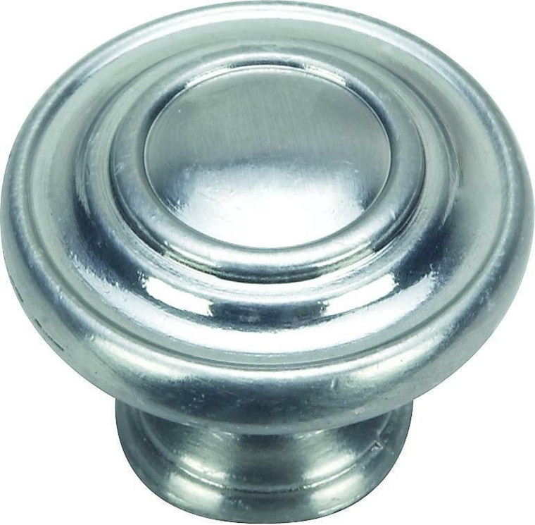 Hardware House 1 3/8-in Cabinet Ring Knob, Satin Nickel